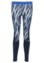 Adidas Performance Tights Blue Collegiate Navy