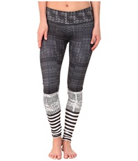 Onzie Levels Graphic Leggings Levels Women's Casual Pants Gray