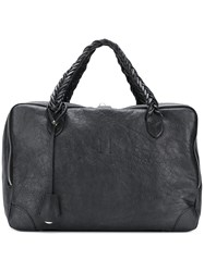 Golden Goose Deluxe Brand Equipage Luggage Tote Black