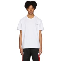 Givenchy White Tape Details T Shirt