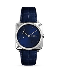 Bell And Ross Br S Diamond Bezel Eagle Watch 39Mm Navy