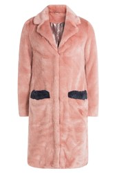 Shrimps Faux Fur Coat Multicolor