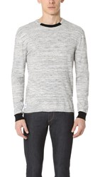 Native Youth Overcast Knit Sweater Grey Marl