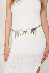 Nasty Gal Luv Aj The Kennedy Silver And Gold Belt