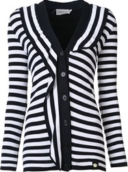 Sonia Rykiel Striped Cardigan Black