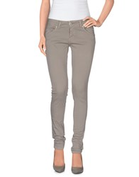 Andrea Morando Trousers Casual Trousers Women Grey