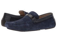Kenneth Cole Reaction Herd The Word Navy Men's Slip On Shoes