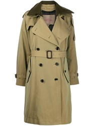 Marc Jacobs The Trench Coat Green