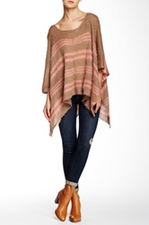 Wooden Ships Hathaway Poncho Brown