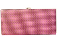 Lodis Sophia Woven Andra Clutch Wallet Plum Gold Wallet Handbags Purple