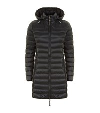 Parajumpers Ginevra Long Lightweight Down Jacket Female Black