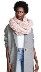 Free People Dreamland Cowl Infinity Scarf Pink