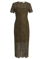 Diane Von Furstenberg Carly Dress Khaki