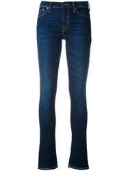 Jacob Cohen Skinny Jeans Women Cotton Polyethylene Polyurethane 31 Blue
