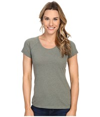 Columbia Silver Ridge Zero Short Sleeve Shirt Cypress Heather Women's Short Sleeve Pullover Gray