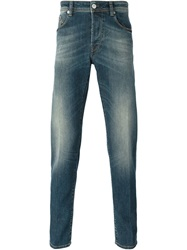 Pt05 Straight Fit Jeans Blue