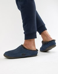 Sorel Falcon Ridge Slippers In Navy