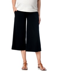 A Pea In The Pod Maternity Cropped Wide Leg Pants