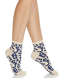 Happy Socks Combed Leopard Ankle Leopard Print