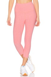 Beyond Yoga Spacedye High Waist Capri Legging Coral