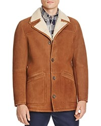 Brooks Brothers Out Kenton Shearling Jacket Brown