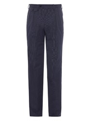 Tomorrowland Pinstripe Cotton Blend Trousers