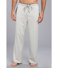 Kenneth Cole Reaction Super Soft Brushed Jersey Sleep Pants Light Grey Heather Men's Pajama Gray