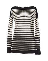 Rose' A Pois Sweaters Black