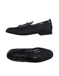 Bruno Bordese Footwear Moccasins Men Black