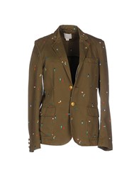 Band Of Outsiders Coats And Jackets Jackets Women Military Green