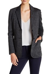 Atm Anthony Thomas Melillo Bonded Knit Sport Blazer Gray