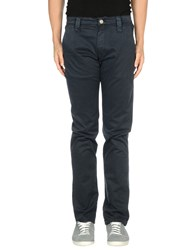 Chiribiri Trousers Casual Trousers Men Dark Blue