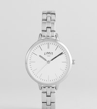 Limit Silver Bracelet Watch Exclusive To Asos