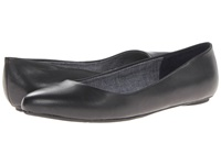 Dr. Scholl's Really Black Leather 2 Women's Flat Shoes