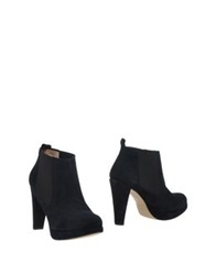 Ganni Ankle Boots Dark Blue