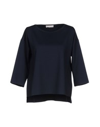 Stefanel T Shirts Dark Blue