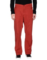 Marlboro Classics Trousers Casual Trousers Men Rust