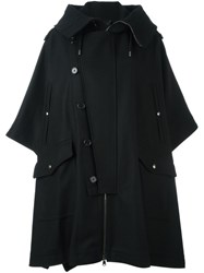 Diesel Black Gold 'Keshiki' Coat Black