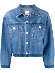 Sjyp Back Button Denim Jacket 60