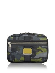 Tumi Reno Travel Kit Green Camo