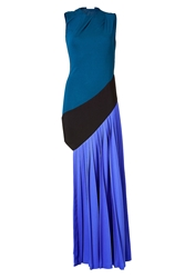 Vionnet Draped Asymmetrical Gown