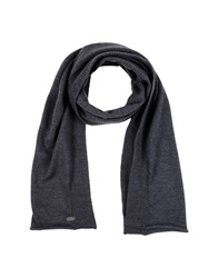 Just Cavalli Oblong Scarves Steel Grey