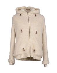 Patrizia Pepe Coats And Jackets Coats Men Ivory