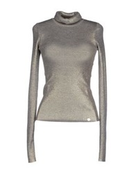 Liu Jo Turtlenecks Silver