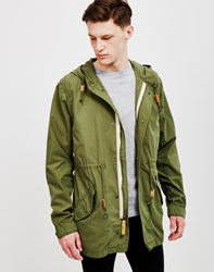 Alpha Industries Light Weight Fishtail Parka Olive Green