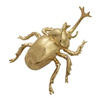 Michael Aram Rainforest Rhino Beetle Figurine