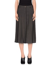 Henry Cotton's Skirts 3 4 Length Skirts Women Dark Brown