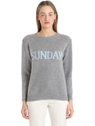 Alberta Ferretti Sunday Wool And Cashmere Knit Sweater