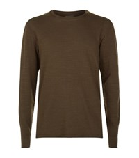 Allsaints Orsman Long Sleeve T Shirt Male Brown