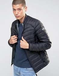 Esprit Quilted Jacket Black Navy